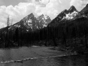 Jackson Hole in B&W